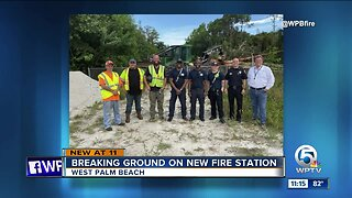 West Palm Beach Fire Rescue breaks ground on new station