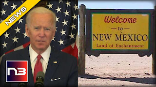 Biden Just Renamed New Mexico… Yes, You Read that Right