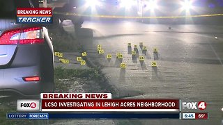 Possible shooting investigation in Lehigh Acres overnight Monday