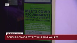 Tougher COVID-19 restrictions in Milwaukee start Thursday