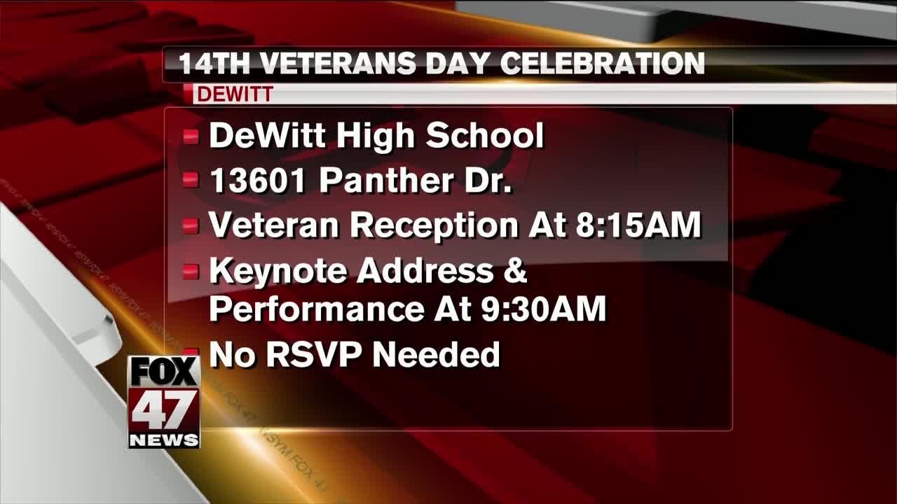 Veterans Day affairs