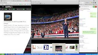 Live President Donald Trump Rally Perry, Georgia