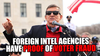 Foreign Intel Agencies Have PROOF of Voter Fraud - Michael Flynn