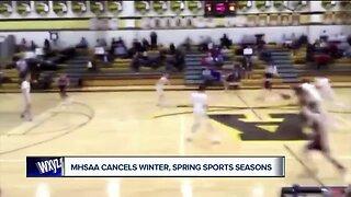 MHSAA cancels winter, spring sports seasons