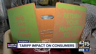 Tariffs making direct impact on Valley consumers
