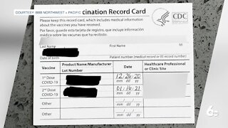 BBB: Avoid Scams Related to COVID-19 Vaccination Cards