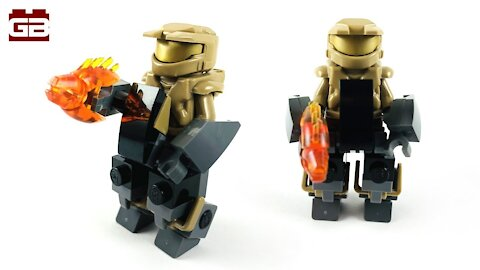 LEGO HALO MINIFIGURE MECH SUIT