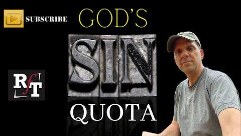 GOD'S SIN QUOTA