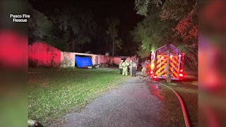 Pasco County deputy hit, injured while directing traffic