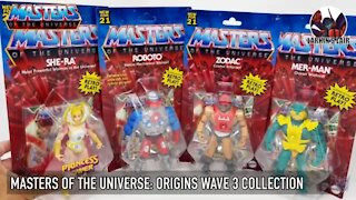 Masters of the Universe: Origins Wave 3 Collection, Larkin's Lair