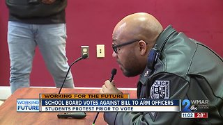 School Board Votes Against Bill to Arm School Police Officers