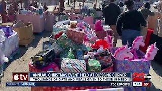 Blessing Corner Annual Event