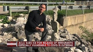 ACLU sues ICE for release of immigrants especially vulnerable to COVID-19 outbreak