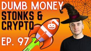 Ep. 97 Stocks & Crypto: The Return of Volatility    Dumb Money w/ Matt