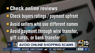 Holiday shopping scams and how to avoid them