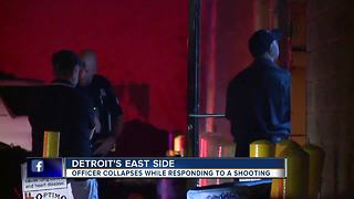 Detroit police officer hospitalized after possible contact with horse tranquilizer