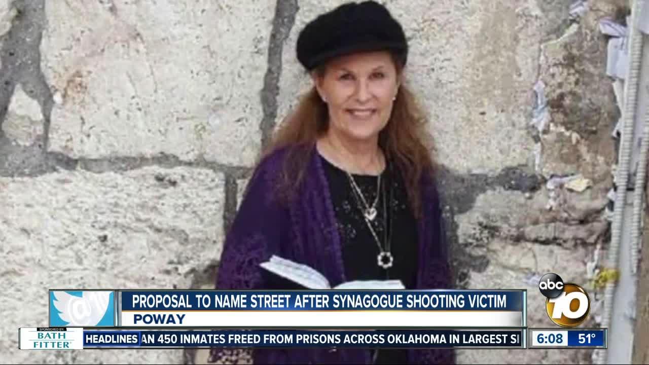Community members propose renaming street after synagogue shooting victim