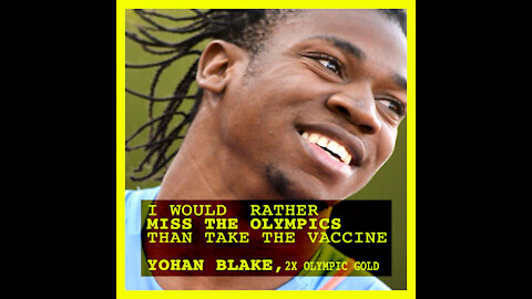 2X Olympic Gold Medalist: I Would Rather Miss The Olympics Than Take Vaccine