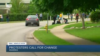Protesters call for change in Waukesha