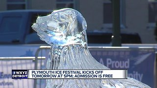 Plymouth Ice Festival kicks off Friday at 5 pm