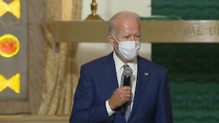 Joe Biden visits Kenosha