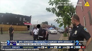 BPD Sergeant previously charged with assault indicted on 32 additional counts