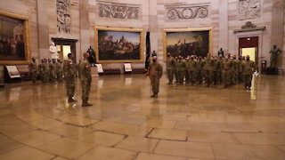 Soldier shares his time in Washington D.C.