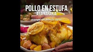 Orange Stove Chicken