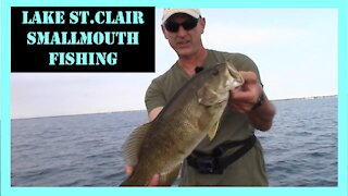 Lake St. Clair Smallmouth Fishing Action Near Shore
