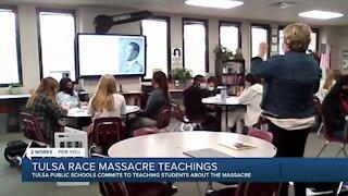 Tulsa Public Schools students learn about the Tulsa race massacre