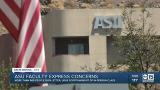 ASU faculty expresses concerns about returning