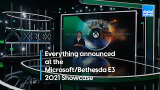 Every announcement from Microsoft and Bethesda's joint E3 showcase