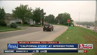 """What's driving you crazy: """"California stops"""""""