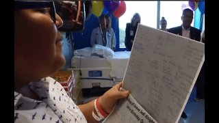 West Boca Medical Center staff surprises patient with birthday party