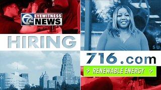 Hiring 716: Careers in renewable energy