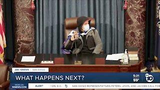 What happens next after Capitol riots