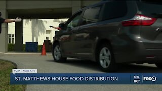 Easter food drives