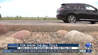 Man sells car out of state, still charged for Colorado tolls