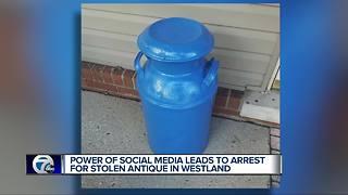 Couple gets back stolen family heirloom after post goes viral