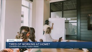 Coworking space offering free Try-It Tuesdays