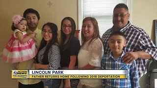 Lincoln Park family reunited nearly 2 years after husband is deported