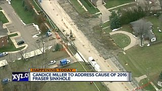 Macomb County officials to address cause of 2016 Fraser sinkhole