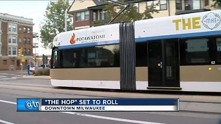 The Hop streetcar begins service Friday