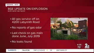 Deadly explosion in Northwest Baltimore