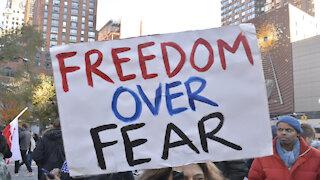 BANNED VIDEO - New York City Anti-Lockdown Rally Speeches