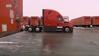 Weather conditions in southern states causing challenges for local trucking company