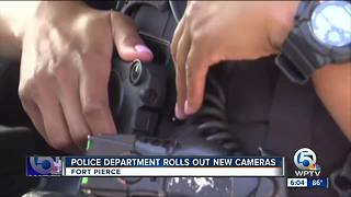 New police body cameras rolled out