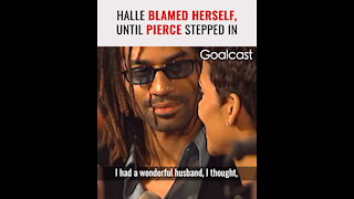 How Pierce Brosnan Saved Halle Berry's Life