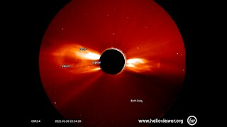 Stereo-A solar flare