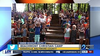 Good morning from the Beachmont Christian Camp!
